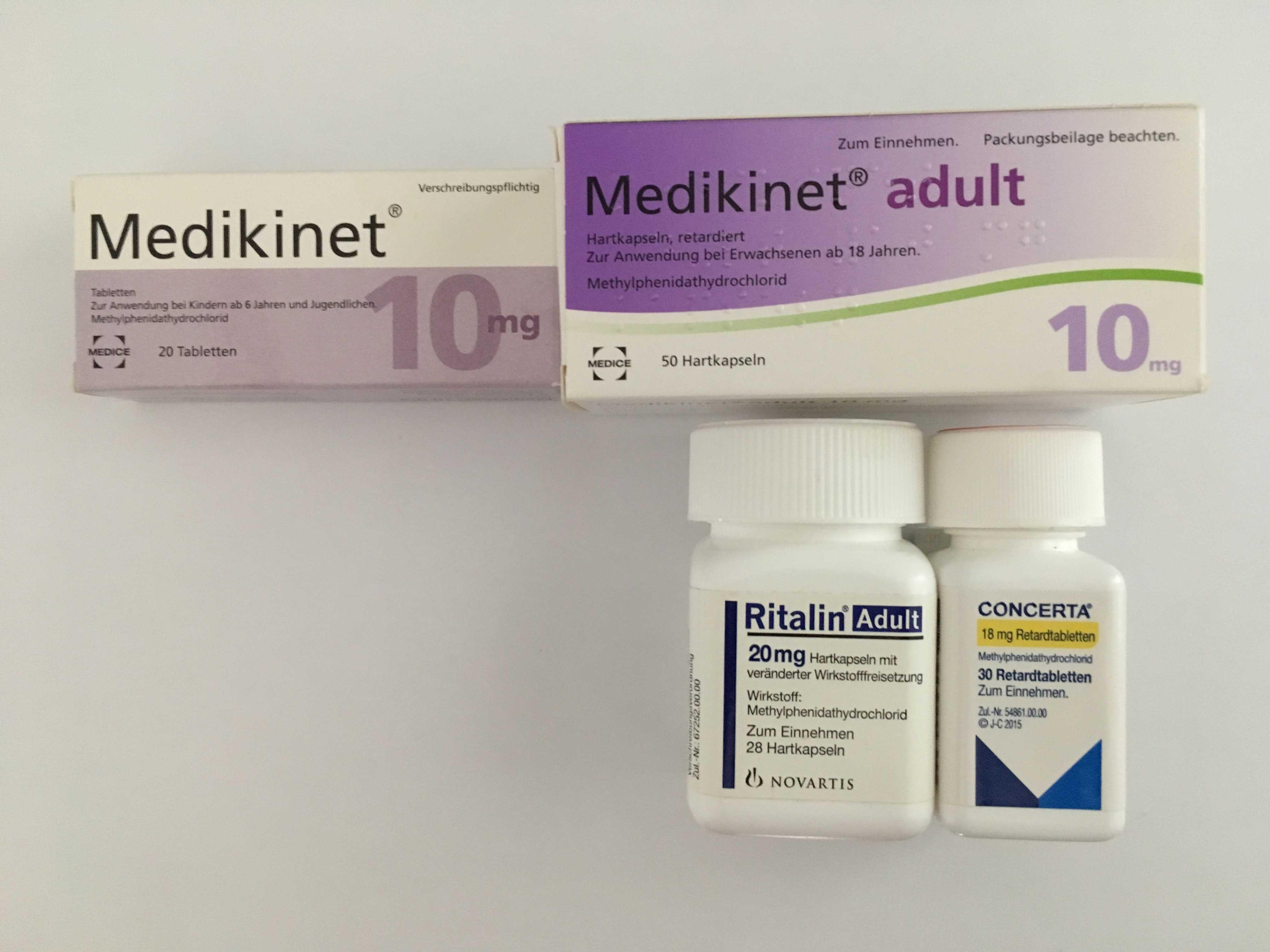 Diätpillen mit Amphetamin-Medikament