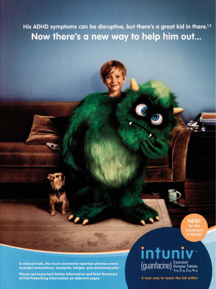 Monster De Werbung
